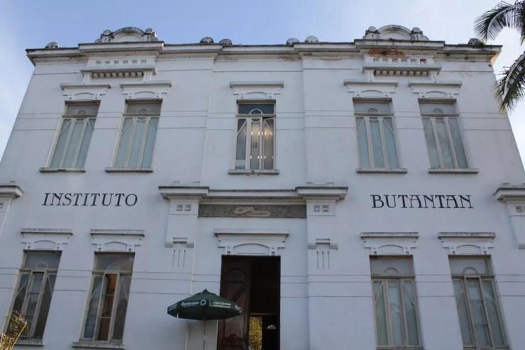 Fachada do Instituto Butantan, na Zona Oeste de São Paulo — Foto: Marcos Santos/USP Imagens