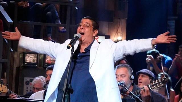 Zeca Pagodinho canta seus maiores sucessos