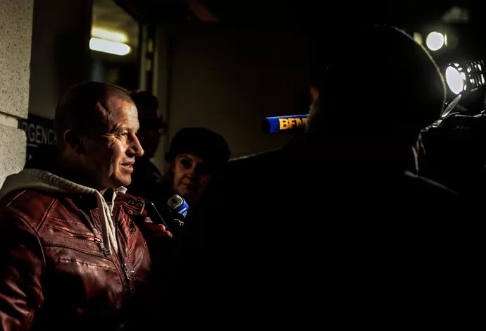 Olivier Panis Hospital Schumacher (Foto: AFP)