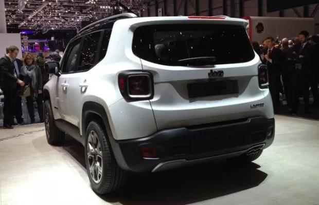 Renegade Grande Aposta Da Jeep AUTO ESPORTE Notcias