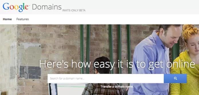 Página do Google Domains, novo serviço de registro de domínios do Google (Foto: Reprodução/Edivaldo Brito) (Foto: Página do Google Domains, novo serviço de registro de domínios do Google (Foto: Reprodução/Edivaldo Brito))