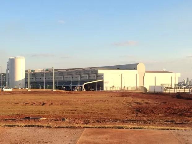 Novo aeroporto de Goiânia é inaugurado com a presença de Dilma Rousseff, em Goiás (Foto: Vanessa Martins/G1)