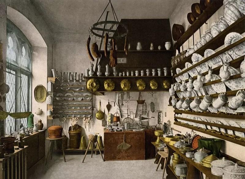 Cozinha típica alemã (FOTO: TASCHEN VIA BOREDPANDA)