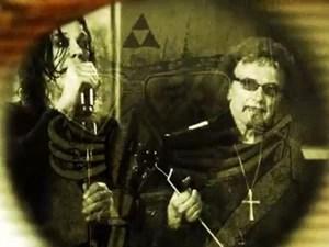 Ozzy Osbourne e Tony Iommi no clipe de 'God is dead?' (Foto: Divulgação)