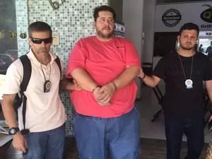 Irmão de humorista foi preso na Zona Oeste da cidade (Foto: Divulgação/Polícia Civil)