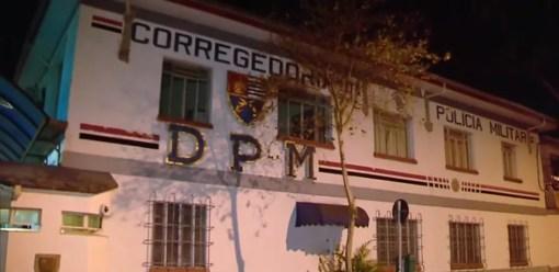 Fachada da Corregedoria da Polícia Militar (Foto: Reprodução/TV Globo)