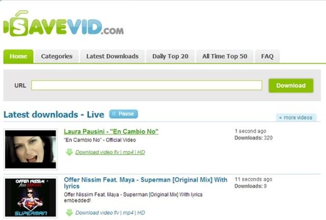 SaveVid salva vídeos na máquina e cria galeria com os mais baixados (Foto: Reprodução/Paulo Alves)