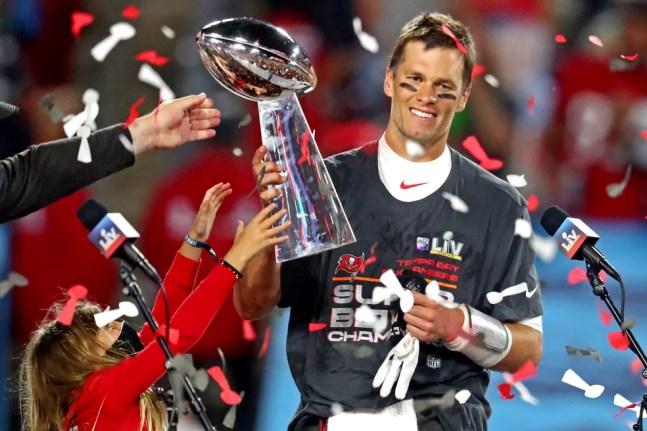 Tom Brady, Super Bowl — Foto: Mark J. Rebilas-USA TODAY Sports/via Reuters