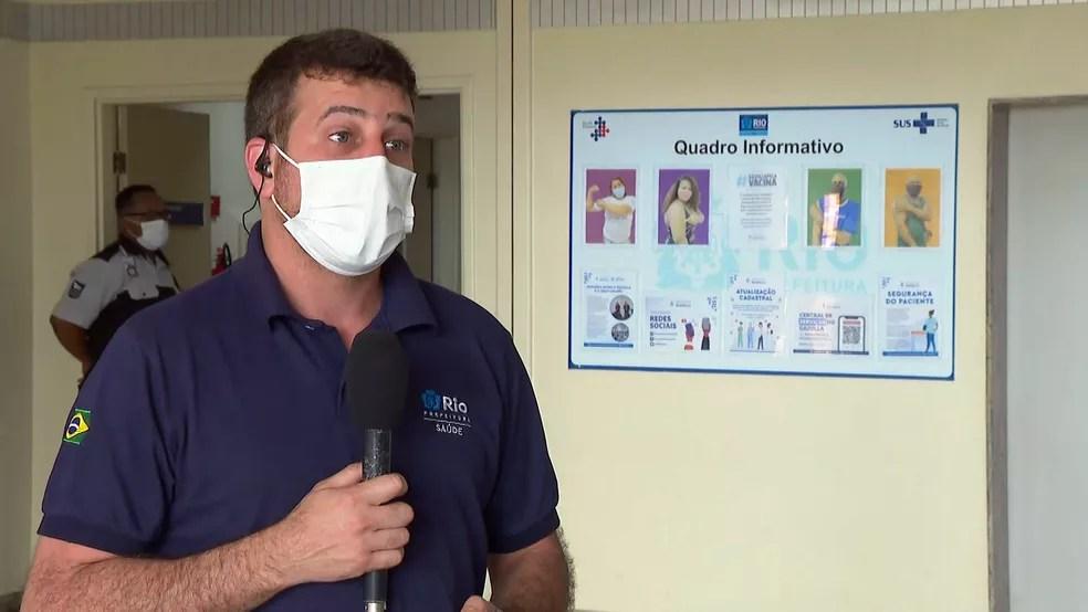 Daniel Soranz, secretário de Saúde do Rio, em entrevista ao Bom Dia Rio — Foto: Reprodução/TV Globo