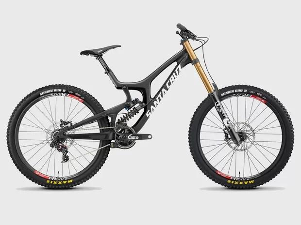 santa-cruz-new-v-10-carbon- - Comparáveis a carros, bicicletas de luxo chegam a custar R$ 75 mil