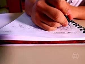enem redação (Foto: Reprodução/TV Globo)