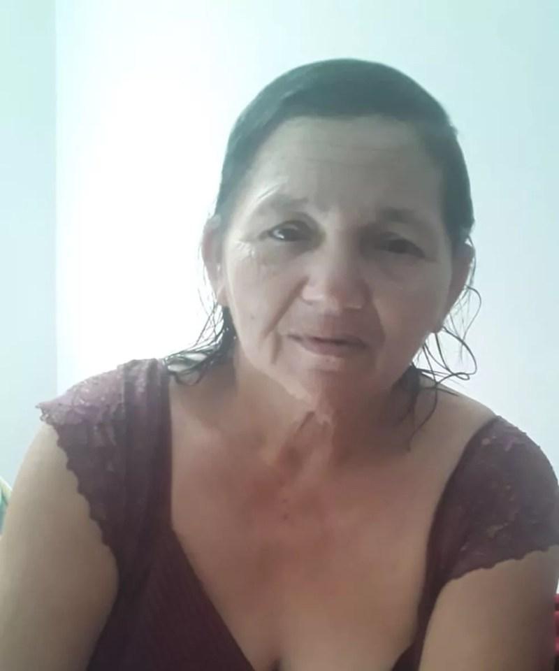 Maria Inocêncio de Souza aguarda leito de UTI há 3 dias — Foto: Cedida