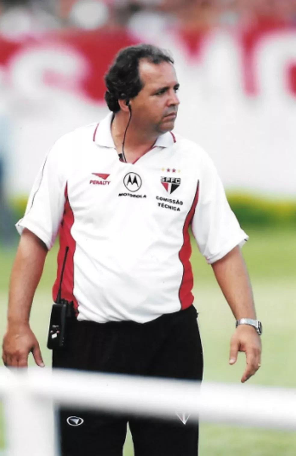 Vadão foi o responsável por lançar Kaká no São Paulo — Foto: Arquivo pessoal / Oswaldo Alvarez