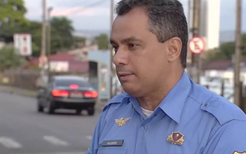 Porta-voz da GCM diz que 100 guardas farão ação contra ataques (Foto: Reprodução/TV Anhanguera)