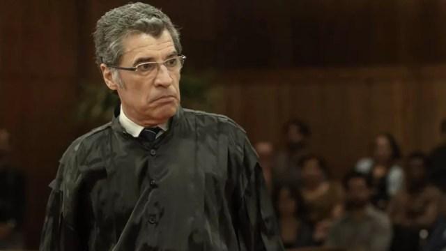Maurício tenta desqualificar o testemunho de Mariano (Foto: TV Globo)