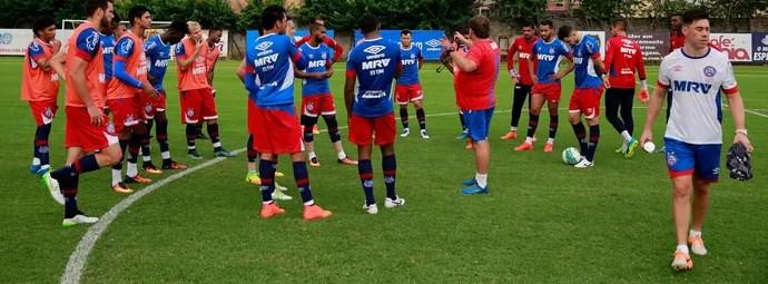 Bahia; treino; Fazendão (Foto: Felipe Oliveira / Divulgação / EC Bahia)