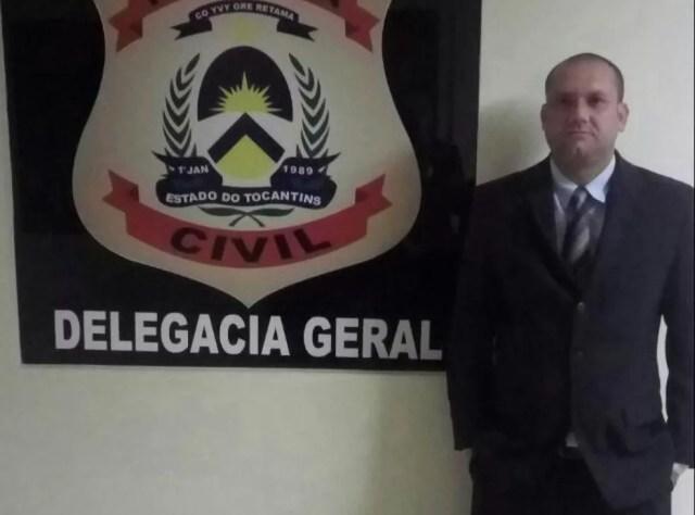 Delegado perdeu parte de uma orelha após ser baleado (Foto: Divulgação/Polícia Civil)
