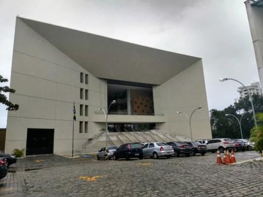 Sede do Tribunal Regional Eleitoral do Rio Grande do Norte - TRE/RN  — Foto: Igor Jácome/G1