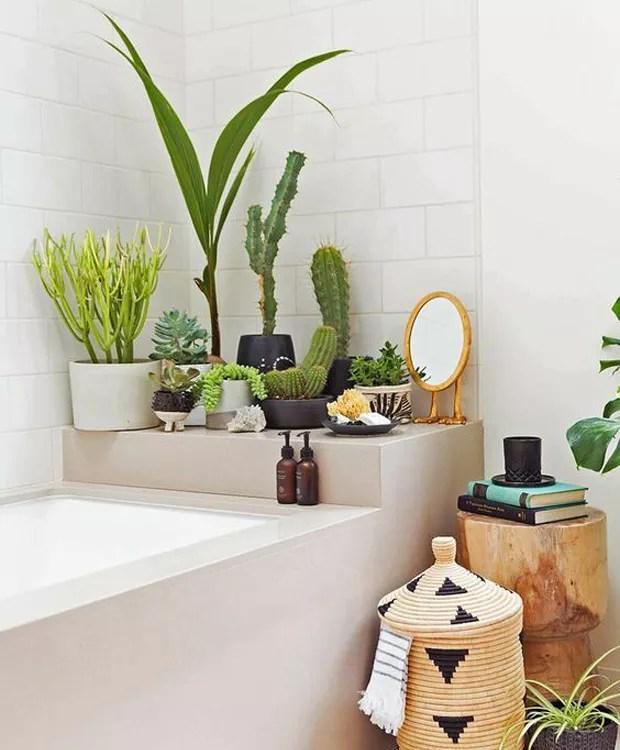 Tendncia como ter plantas no banheiro  Casa e Jardim