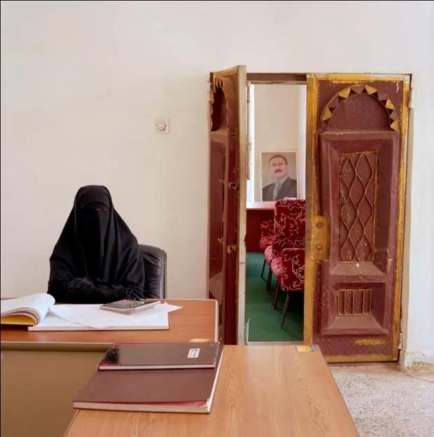 Escritório no Yemen (Foto: Jan Banning/Divulgação)
