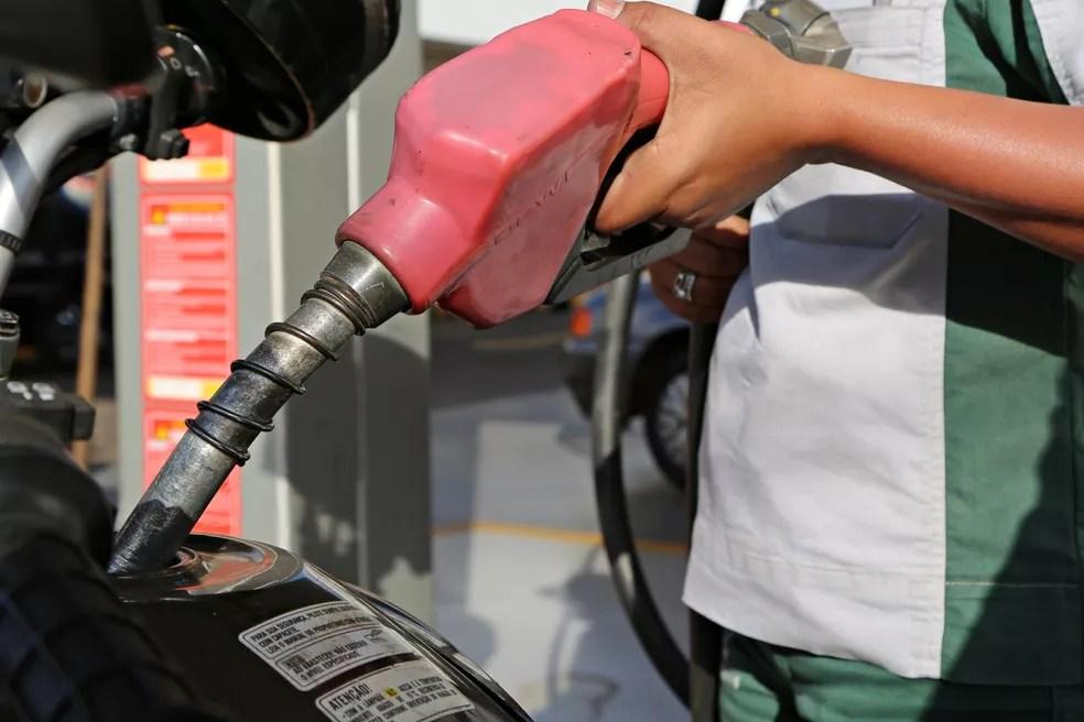 Posto de gasolina em Uberaba (Foto: Neto Talmeli/Prefeitura de Uberaba)