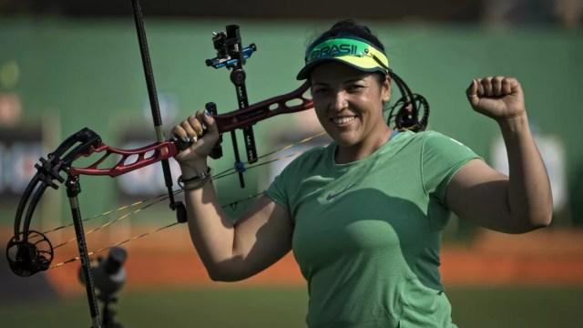 Jane Karla nos Jogos Rio 2016 — Foto: Márcio Rodrigues / MPIX/CPB
