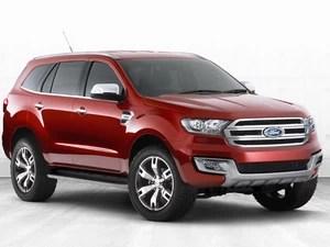 Ford Everest foi apresentado na Austrália (Foto: Divulgação)