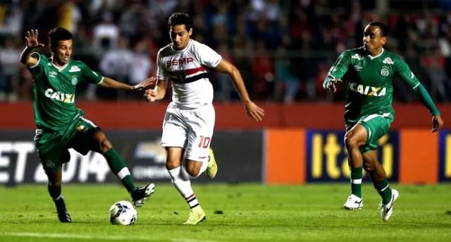 Paulo Henrique Ganso São Paulo e Chapecoense morumbi (Foto: Marcos Ribolli / Globoesporte.com)