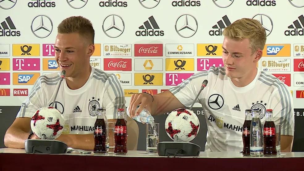 Kimmich e Julian Brandt são apostas na seleção da Alemanha (Foto: Ivan Raupp)