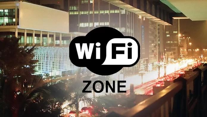 Diversos pontos de São Paulo e Rio de Janeiro possuem Wi-Fi gratuito (Foto: Flickr / Pedro Angelini / Arte)