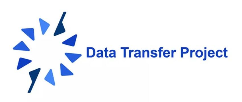Logo do Data Transfer Project, iniciativa conjunta do Twitter, Facebook, Google e Microsoft para criar uma tecnologia de 'portabilidade de dados'. (Foto: Divulgação)