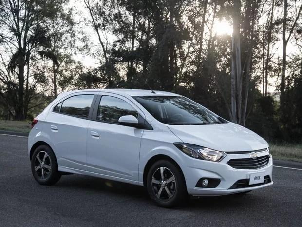 Chevrolet Onix 2017 (Foto: Divulgação)