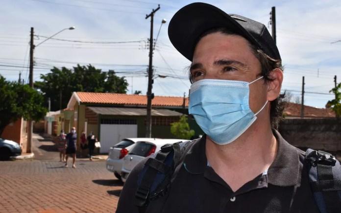 Primo do piloto Anderson Teixeira está internado com Covid-19 em Serrana, SP — Foto: Vinícius Alves/G1