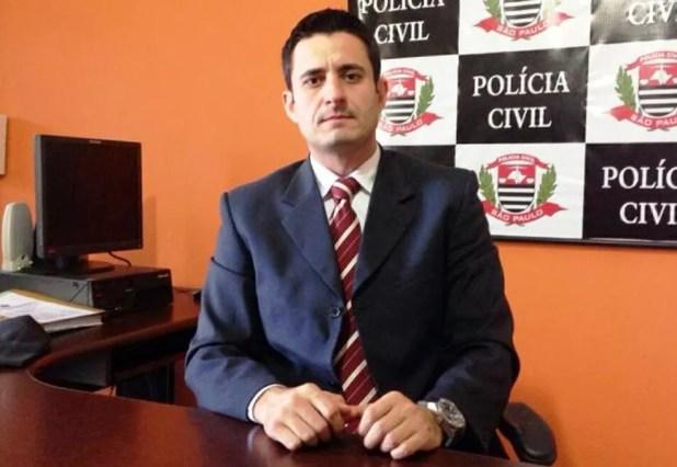 Delegado Douglas Borguez foi afastado em ação de improbidade (Foto: Mariane Rossi/G1)