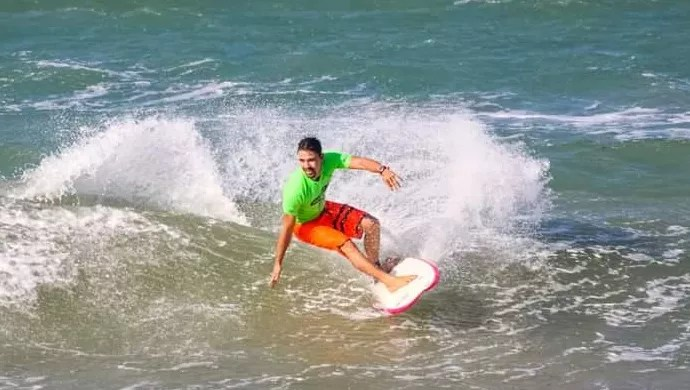 Copa Brasil; surfe universitário; Praia do Futuro; Fortaleza (Foto: Divulgação)