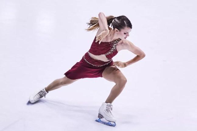 Isadora Williams — Foto:  Joosep Martinson/ International Skating Union / Getty Images