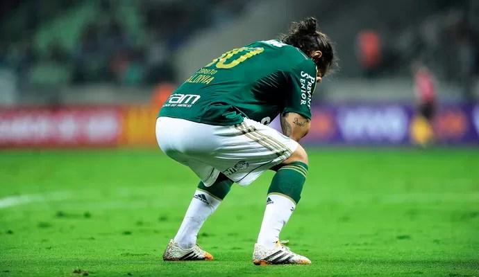 Valdivia Palmeiras Atlético-MG (Foto: Marcos Ribolli)