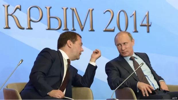 O governo russo é alvo de críticas dos líderes europeus e dos Estados Unidos por sua ação no conflito (Foto: AFP)