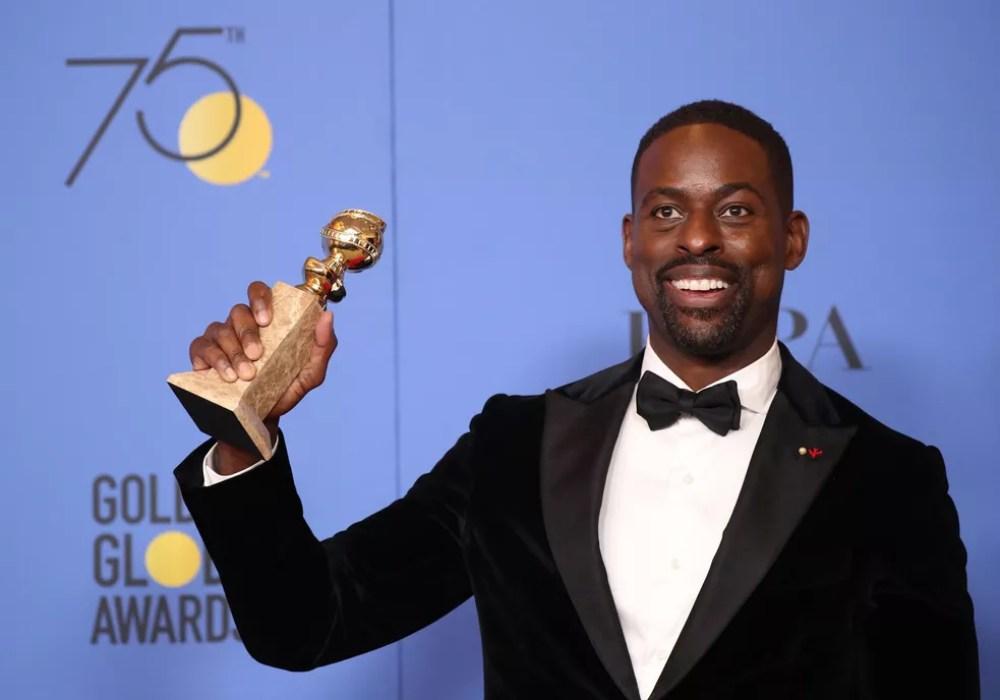 sterling k. brown premio - Confira os vencedores do Globo de Ouro de 2018