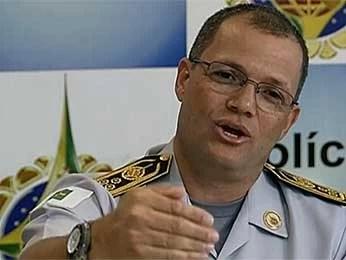 O novo comandante da Polícia Militar do Distrito Federal, Jooziel de Melo Freire (Foto: TV Globo/Reprodução)