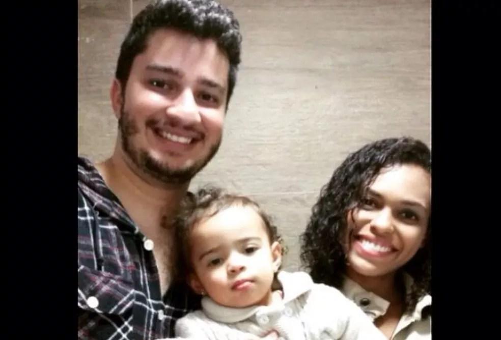 Família do Distrito Federal morta em acidente de trânsito na BR-070, em Cocalzinho de Goiás (Foto: Facebook/Reprodução)