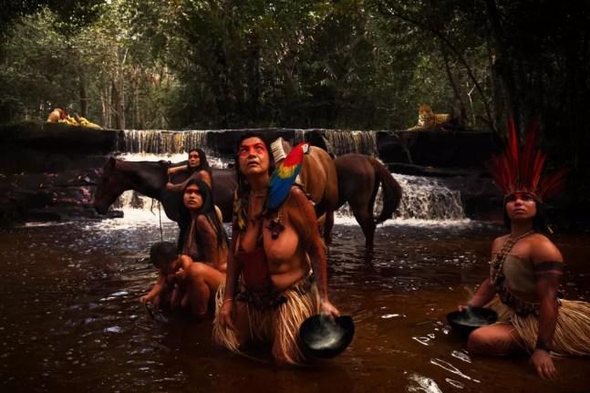 """""""As Amazonas – A Lenda Fotografada"""" foi idealizada há quase 10 anos, mas somente agora ganhou vida.  — Foto: Foto: Tácio Melo/Divulgação"""