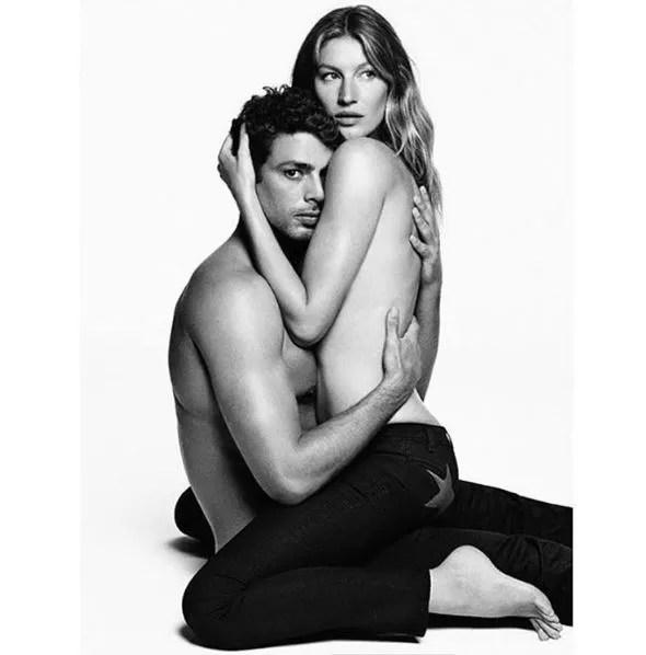 Gisele e Cauã (Foto: Reprodução/Instagram)