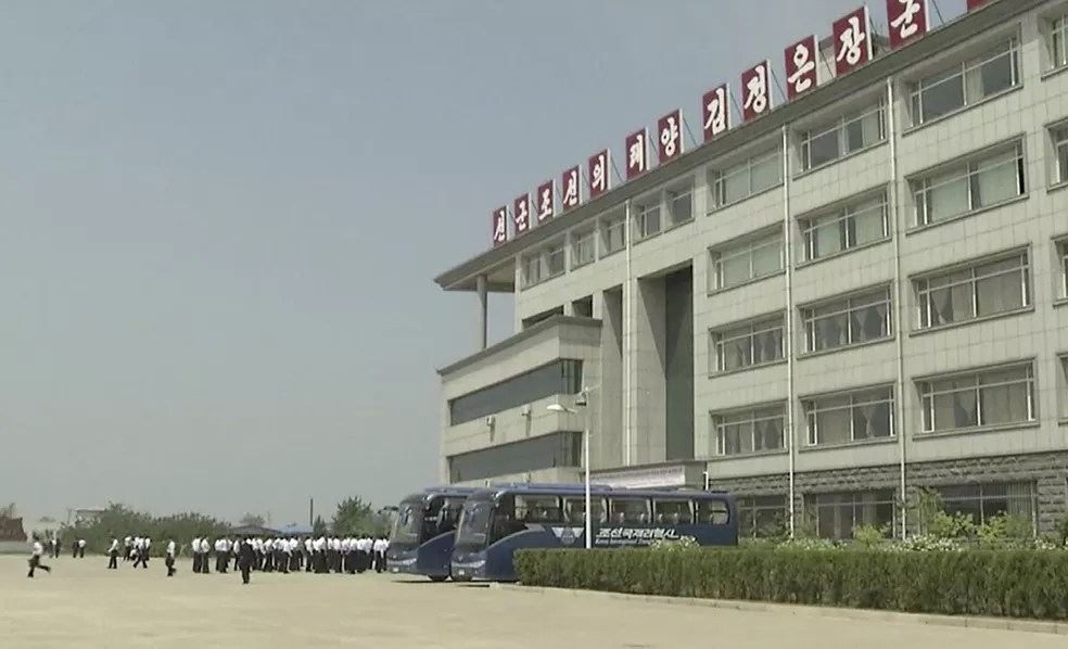 Universidade de Ciências e Tecnologia de Pyongyang (Foto: AP Photo)