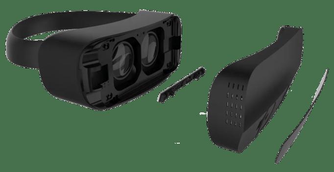 Tecnologia da Leap Motion é acoplada a óculos de realidade virtual para monitorar movimento das mãos e transferi-los para mundo digital. (Foto: Divulgação/Leap Motion)