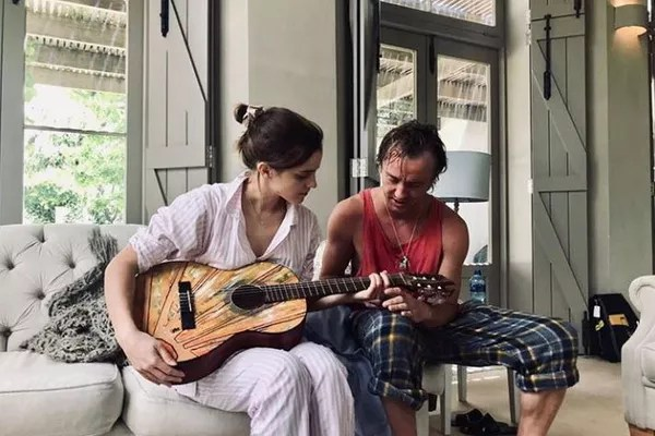 Emma Watson and Tom Felton (Photo: Instagram)