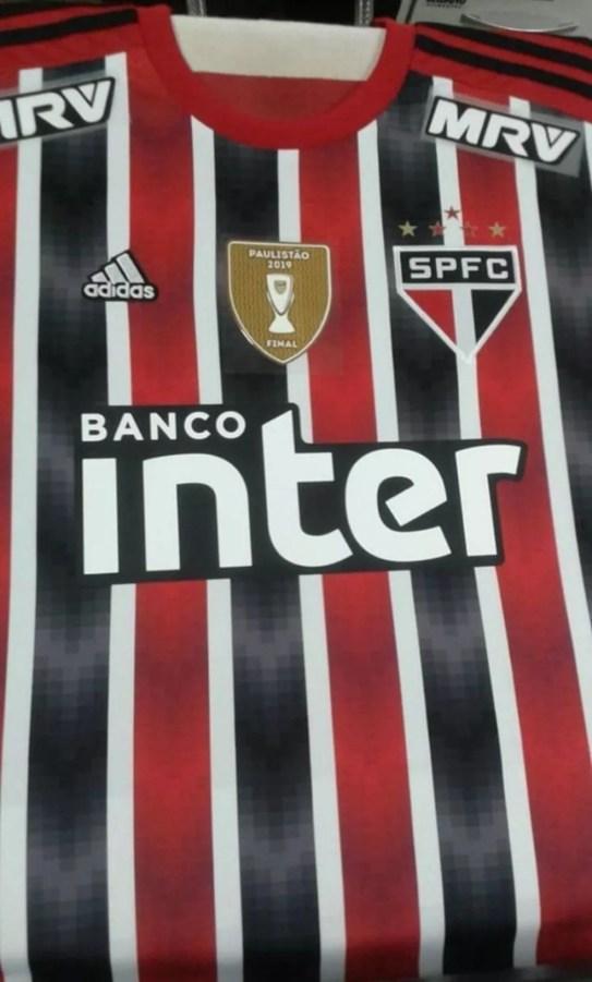 Suposta camisa 2 do São Paulo — Foto: Arquivo pessoal