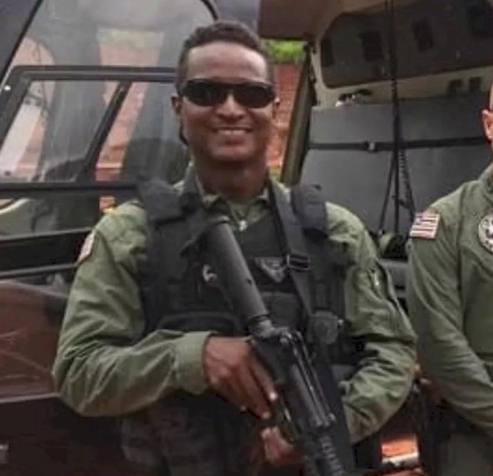 Carlos Magno Cantanhede, de 47 anos, foi baleado por homem com transtornos mentais durante ocorrência no Maranhão. — Foto: Reprodução/Redes sociais