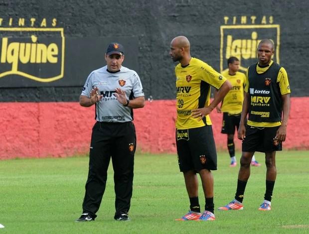 marcelo martelotte sport treino (Foto: Aldo Carneiro / Pernambuco Press)