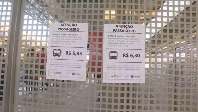 Aumento de passagens dos ônibus metropolitanos — Foto: Reprodução/TV Globo